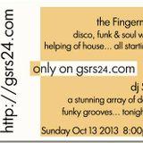 The Fingerman Show 13/10/13