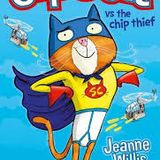"""Super Cat vs The Chip Thief"" read by Mathilda aged 11"