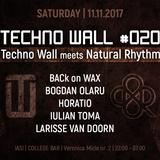 BACk on WAX - Vinyl Set @ Techno Wall meets Natural Rhythm