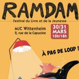Ram Dam, festival du livre et de la jeunesse 30 & 31 mars à Wittenheim