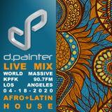 d.painter Live Mix on World Massive: Afro & Latin House (04-18-2020)