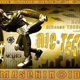 DJane NICname TECHnic:NIC TECH (BASSmaschinenCODE) Fnoob Techno Radio Show MASCHINOID by NIC TECH #4