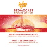 BedmoCast Special: Bedmo Disco @ The Soundwave Croatia Disco/Boogie Boat Party, 10th August 2015