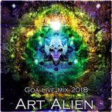 Art Alien - Goa live mix 2018