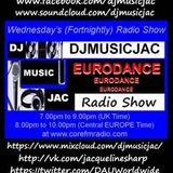 VOL 27 DJMUSICJAC EURODANCE RADIO SHOW CORE FM on Wednesday 27th January 2016