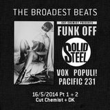Solid Steel Radio Show 16/5/2014 Part 1 + 2 - Cut Chemist + DK