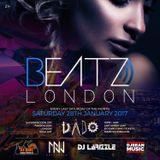 BEATZ LONDON @ DADO54 SAT 28TH JAN 2017