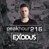 Peakhour Radio #216 - Exodus (Oct 4th 2019)