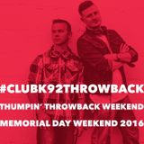 Club K92 Pilot - Thumpin' Throwback Summer 2016 Hour 1 Set 1