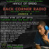 BACK CORNER RADIO: Episode #190 (Oct 29th 2015)