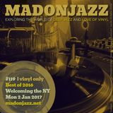 MADONJAZZ #119: Best of 2016