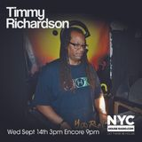 Timmy Richardson TOT NYCHOUSERADIO.COM 2016 EP2