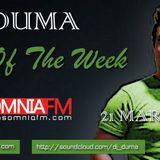 Dj Duma Mix Of The Week 21 March @ Insomnia Fm