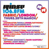 Rinse FM Show - Huxley w/ Sam russo - 19th March 2013