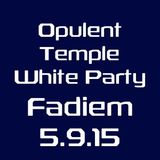 FaDiem at the Opulent Temple, Sacred Dance White Party