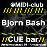 Bjorn Bash @ MIDI-club Spring Edition at CUE bar - 18-05-2012