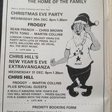 Martin Collins,Froggy & Chris Hill Live at the Royalty Wednesday 31st December 1980