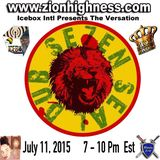 The Versation With Icebox International & 7 Seal Dub on Zionhighness Radio
