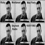 Ricky Montanari @ Max Party - on Radio Skyrock FM, France - 16.01.1993