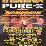 DJ SS - Hysteria/Pure X presents - 'Jungle Mania Vol 1' - The Sanctuary - 1994