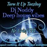 Dj Noddy - Deep House Vibes - Live on No Grief Fm (28/03/2017)