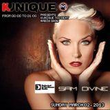 Kunique Too Beat Radio M2O Sunday March 03 Guest: Sam Divine