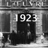 Centuries of Sound - 1923