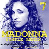 MADONNA vol.7 SIMPLE REMIX (holiday,into the groove,lucky star,physical attraction,bordeline,...)