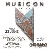 Apollonia - Live @ Music On, The Main Room (Ibiza, ES) . 23.06.2017