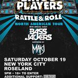 Bingo Players - Live @ Roseland Ballroom New York (USA) 2013.10.19.