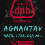 Arena dnb radio show - Vibe fm - mixed by AGMANTAV - 5-Feb-2013