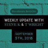 weekly Update - September 5TH, 2018