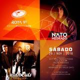 Rota 91 - 26/11/2016 - convidados - Nato Medrado e Radiocuts