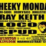 12 11 2012 CHEEKY MONDAY RAY KEITH (DreadRecordings)