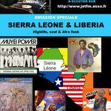 BLACK VOICES émission spéciale SIERRA LEONE & LIBERIA sur L ODYSSEE DU SHAKTI NANTES 2017