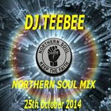 NORTHERN SOUL MIX 25TH OCTOBER