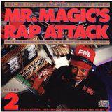 MR MAGIC live in rap attack on wbls fm radio, new york usa 1988