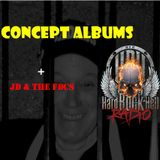 Badass Martin's Rockout Radio Show - Concept Albums + a Tribute to JD & The FDCs