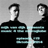 Music 4 The Microglobe #19 (October 2014)