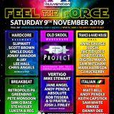Rejuvenation Feel the Force Breakbeat Bar 9th Nov 2019