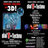 Pounding Grooves (Live PA) @ Dial T For Techno - InCasa Leiden - 16.04.2004