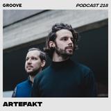 Groove Podcast 218 - Artefakt