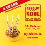 Absolut Soul Show /// 14.02.18 on SOULPOWERfm