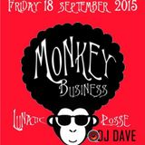 Dj Dave @ Hallywood 18-9-2015 Monkey Business Part 6