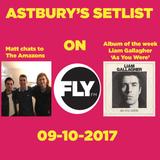 Astbury' Setlist 09-10-2017