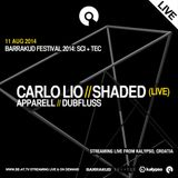 Shaded (Live) @ Barrakud 2014 SCI+TEC, Kalypso - 11 August 2014