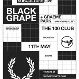 This Is Graeme Park: Subculture Live @ The 100 Club London 11MAY17 Live DJ Set