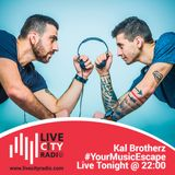 #YourMusicEscape - Kal Brotherz on livecityradio.com Dec2016