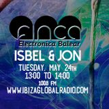 ISBEL & JON (24.05.2016) - finca am @ Ibiza Global Radio