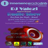 DJ Valozi and DJ Magenta (USA) at Innersence Radio DNB UK - 02.07.2015